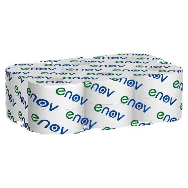 Pack of 6 midi, white tissue rolls