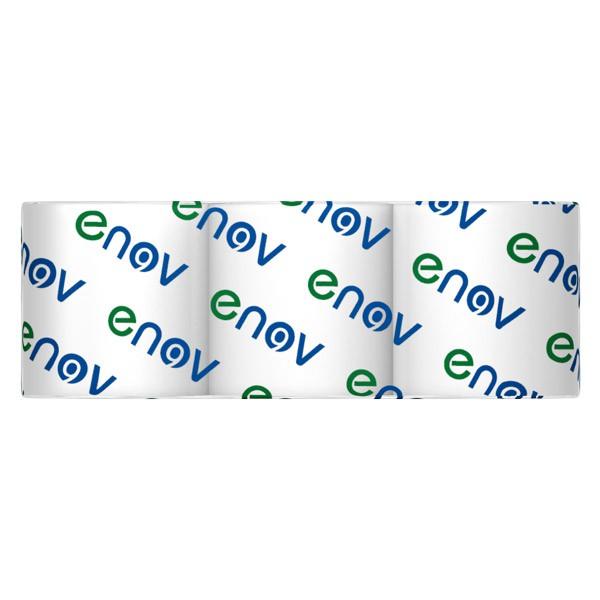 Pack of 3 white tissue rolls