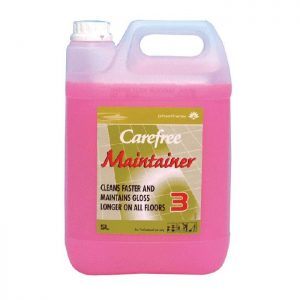 5 litre container of pink floor maintainer
