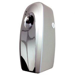 Chrome air freshener dispenser