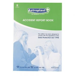 A4 green book to report accidents