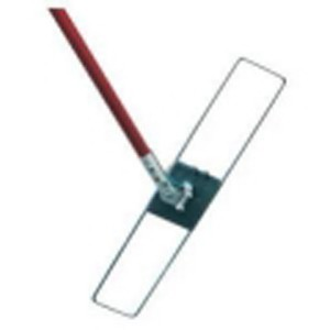 40cm long metal and plastic dust mop frame