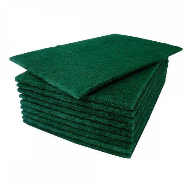 3M general purpose green scouring pads RB6B